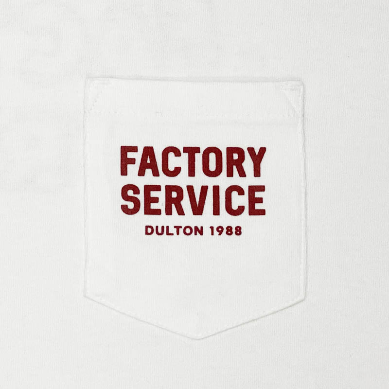 Factory Service T-SHIRTS WHITE/RED M