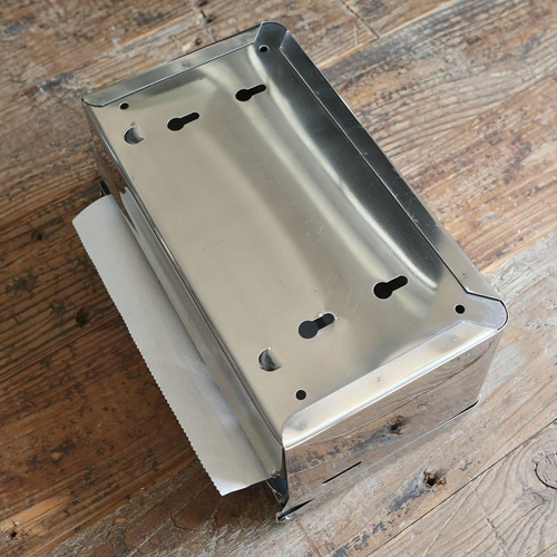 TISSUE DISPENSER STAINLESS