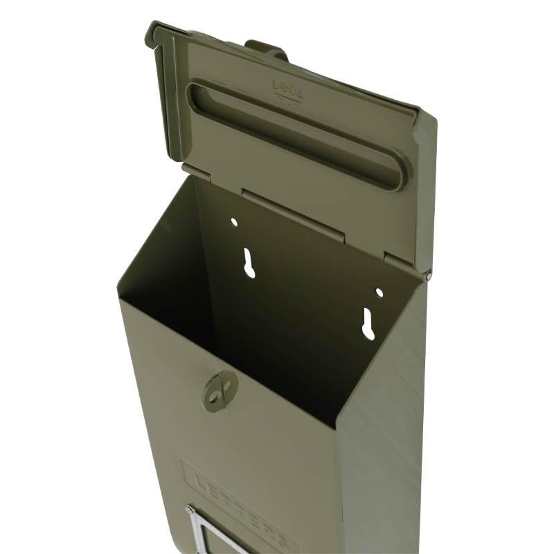 MAIL STORAGE BOX OLIVE DRAB