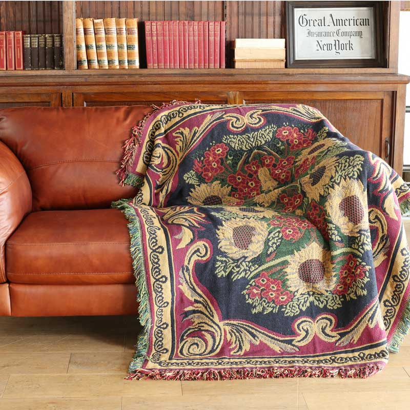 JACQUARD THROW ''DRAWING ROOM''