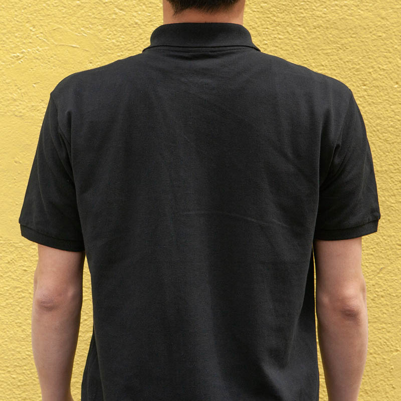 DULTON 30th-Aniv POLO-SHIRTS BLACK L