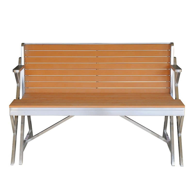 STAINLESS_WPC TABLE & BENCH DOUBLE