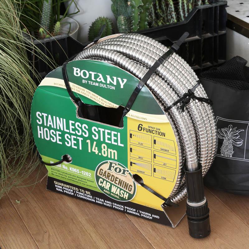 STAINLESS STEEL HOSE SET