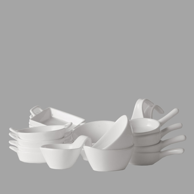 SLANTING TRAY SET OF 4