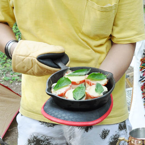 GLUTTON POT HOLDER F.GRN