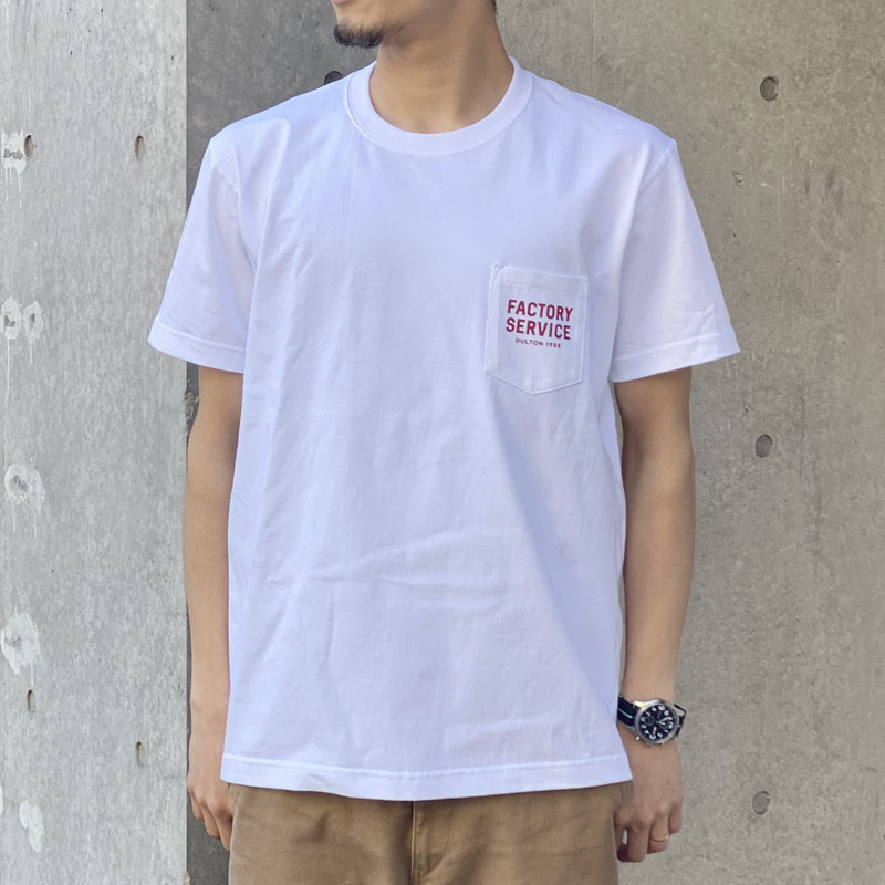 Factory Service T-SHIRTS WHITE/RED L