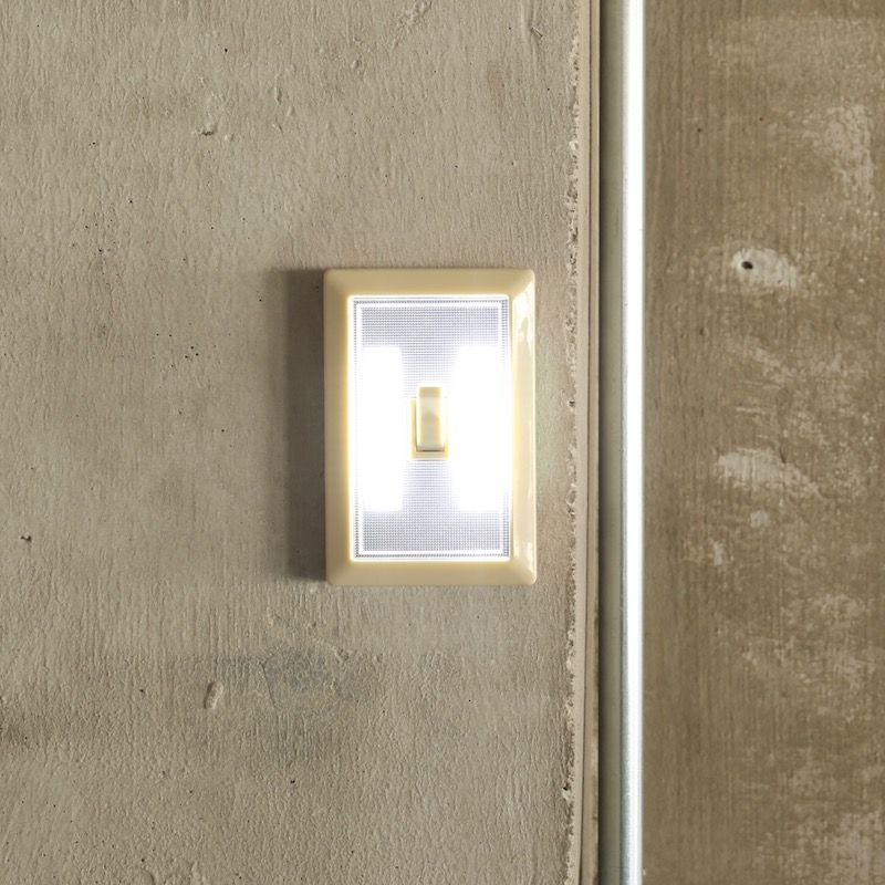 L.E.D TOGGLE SWITCH LIGHT BEIGE