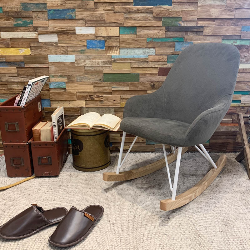 ROCKING CHAIR S ''SPICE BROWN''