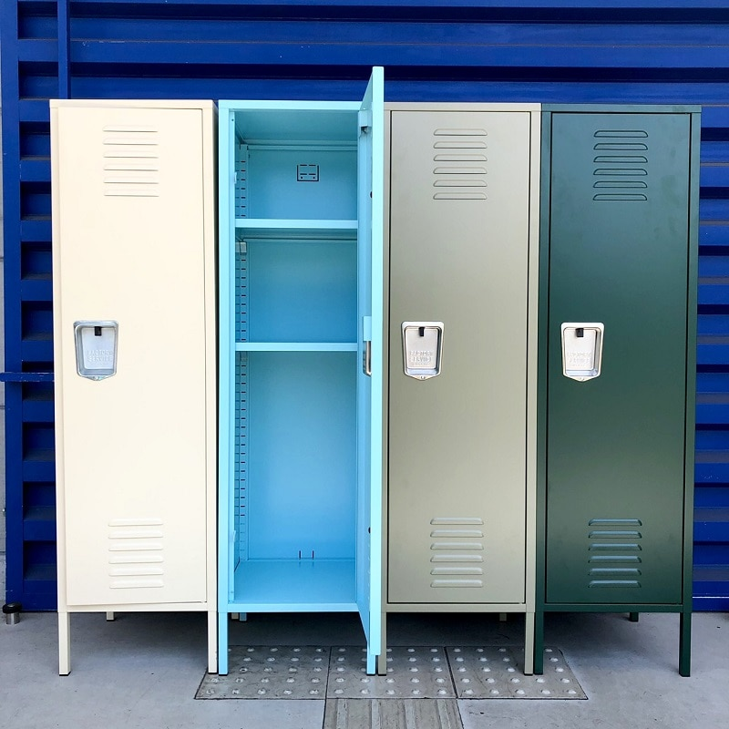 STEEL LOCKER IVORY