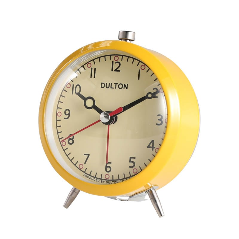 ALARM CLOCK YELLOW