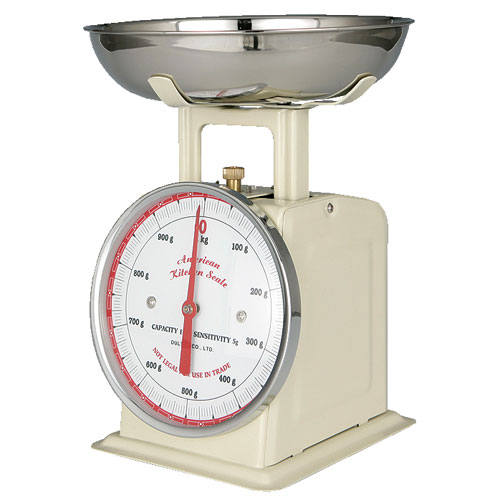 AMERICAN KITCHEN SCALE IVORY