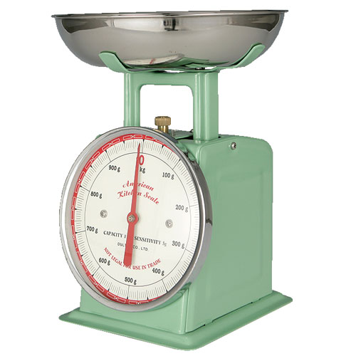 AMERICAN KITCHEN SCALE GREEN