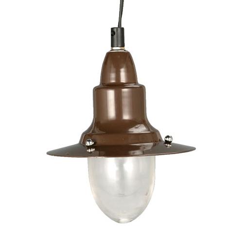 PENDANT LAMP BROWN