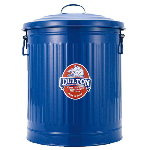 GARBAGE CAN BLUE-L