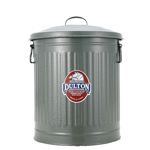 GARBAGE CAN GRAY-M