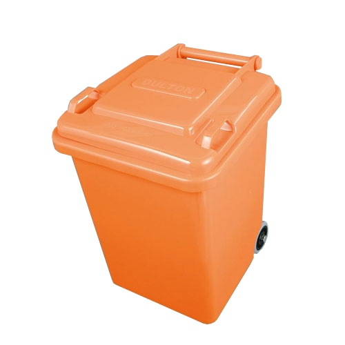 PLASTIC TRASH CAN 18L ORANGE