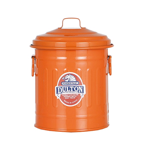 BABY GARBAGE CAN ORANGE