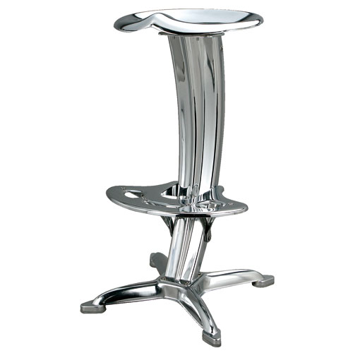 BAR STOOL ''LOTUS'' CHROME
