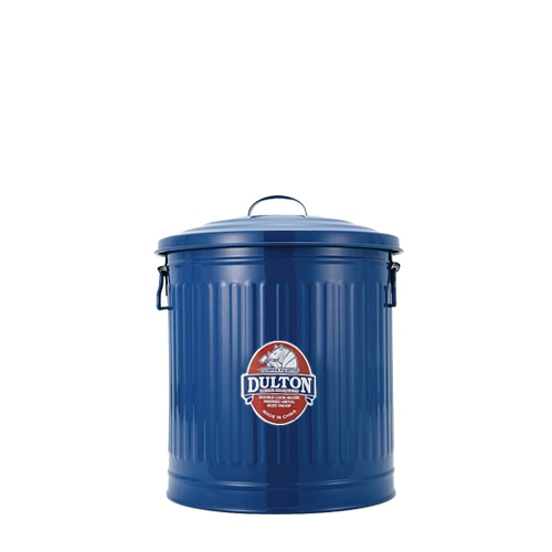 MINI GARBAGE CAN BLUE-L