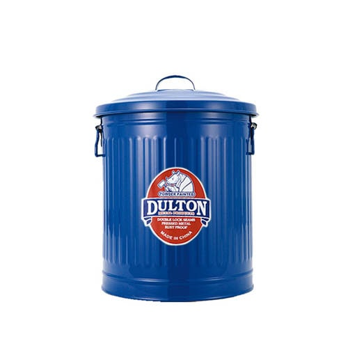 MINI GARBAGE CAN BLUE-S