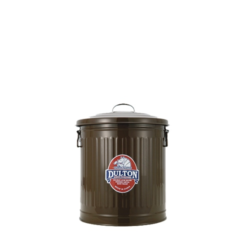 MINI GARBAGE CAN BROWN-M