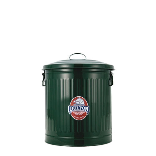 MINI GARBAGE CAN GREEN-L