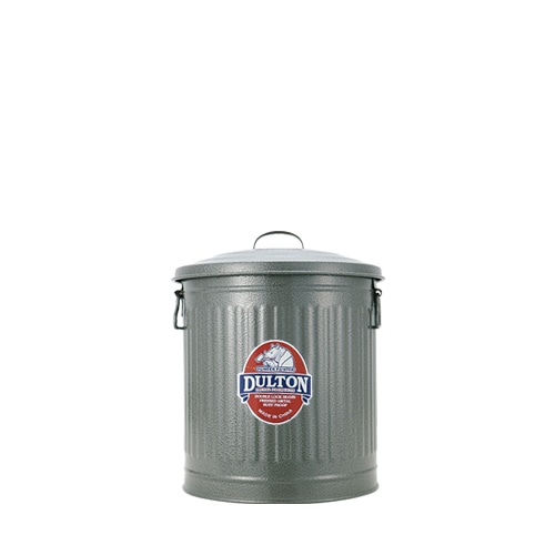 MINI GARBAGE CAN GRAY-M