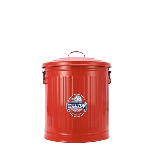 MINI GARBAGE CAN RED-L