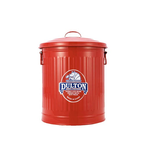 MINI GARBAGE CAN RED-S