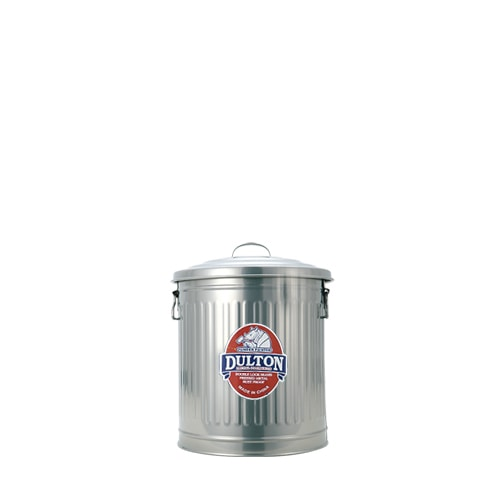 MINI GARBAGE CAN SILVER-S