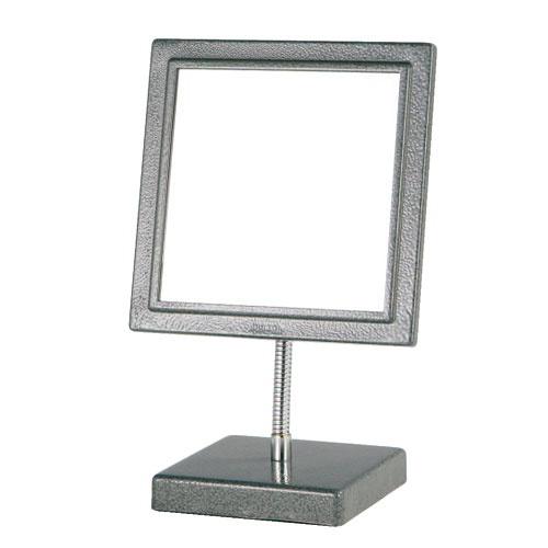 SQUARE MIRROR GRAY