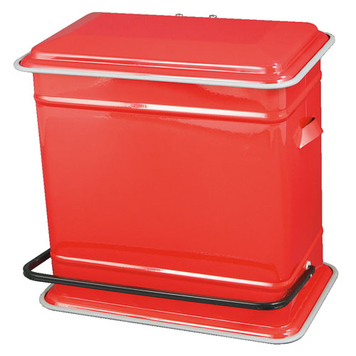 STEP CAN DUAL BUCKET RED