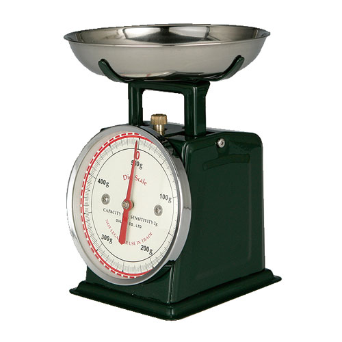 DIET SCALE DARK GREEN