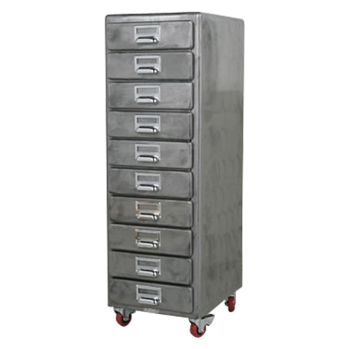 10 DRAWERS CHEST RAW