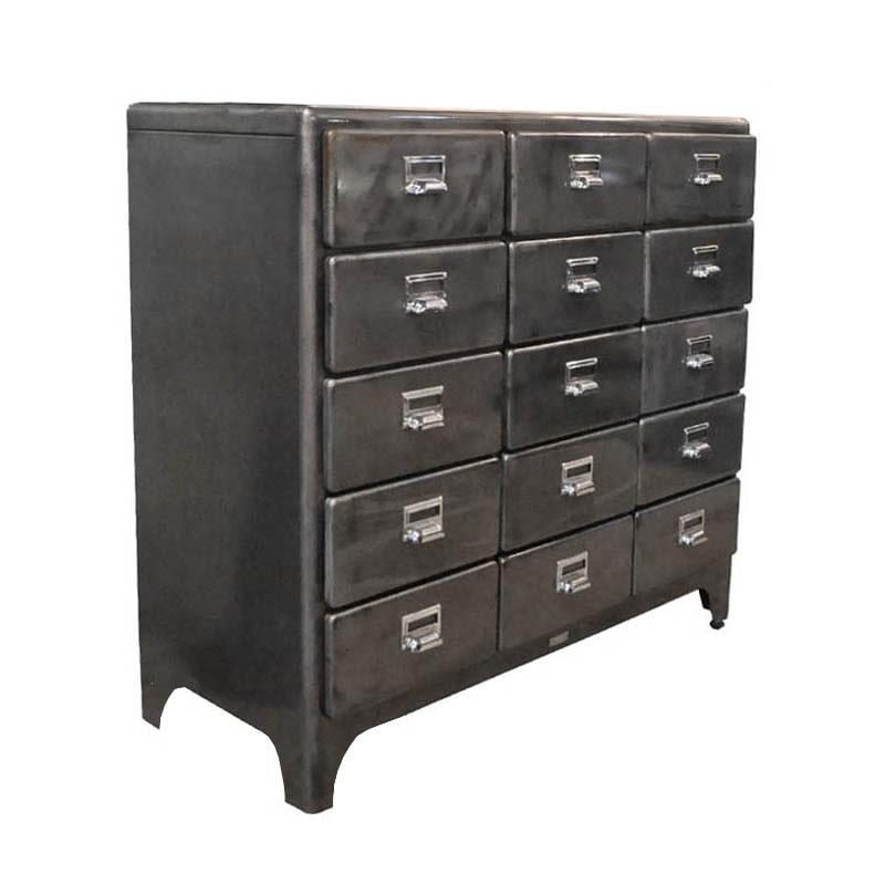 3 COLUMNS 5 DRAWERS RAW