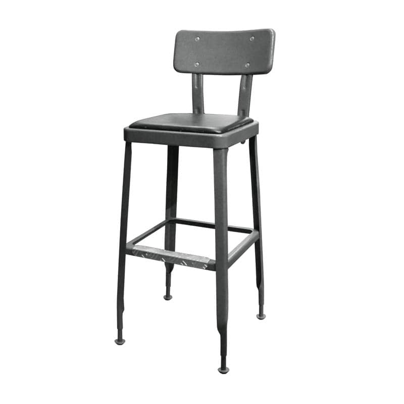 STANDARD BAR CHAIR GRY