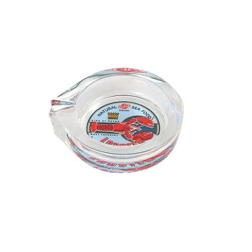 GLASS ASHTRAY-S LOBSTER