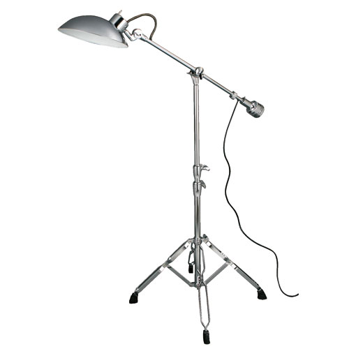 EXECUTIVE FLOOR LAMP CHROME