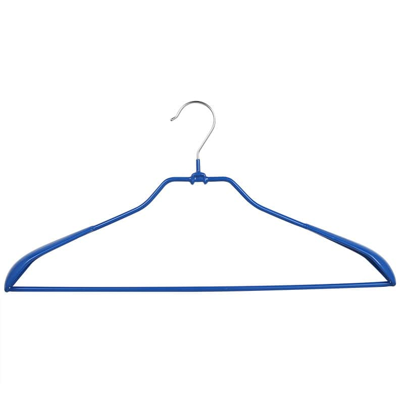 VINYL COATED HANGER BLUE