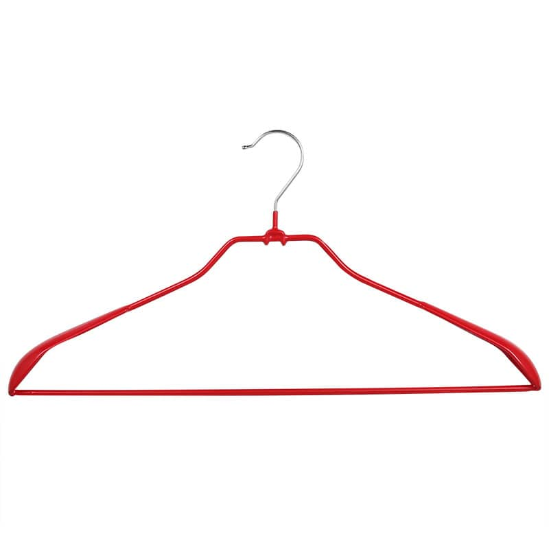 VINYL COATED HANGER RED