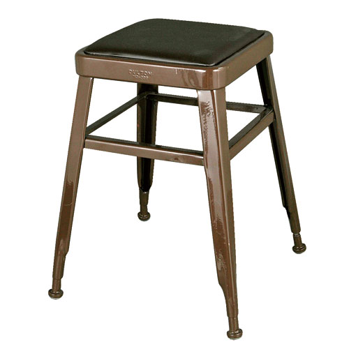 LIGHT-45 STOOL  BROWN
