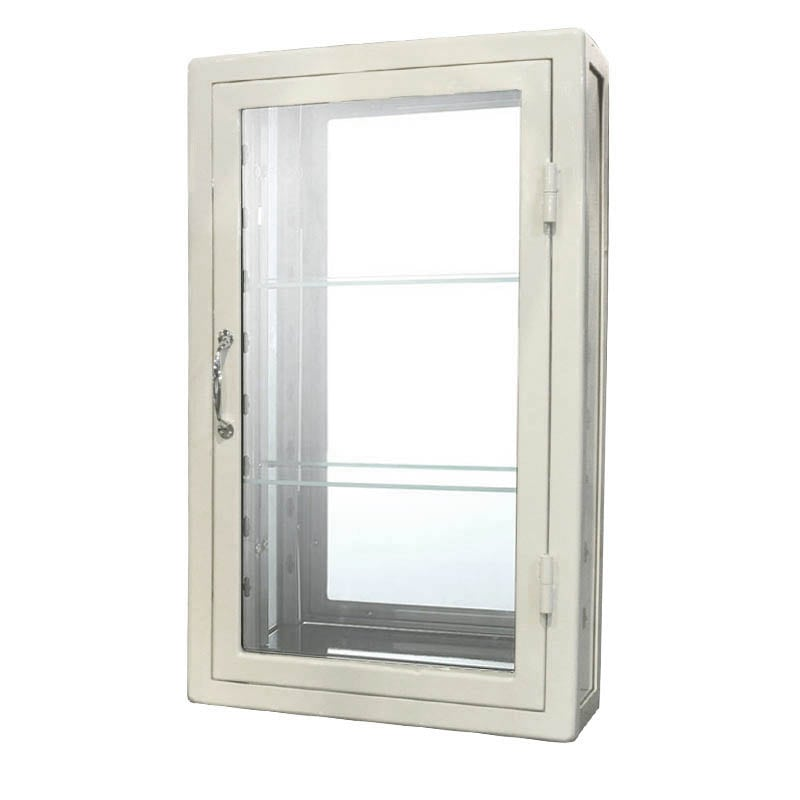 WALL MOUNT GLASS CABINET IVR