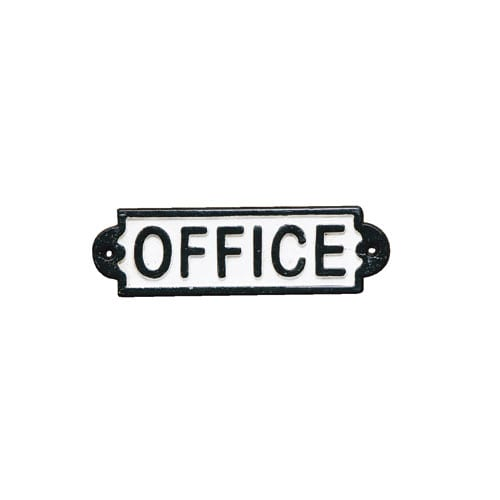 IRON SIGN ''OFFICE''