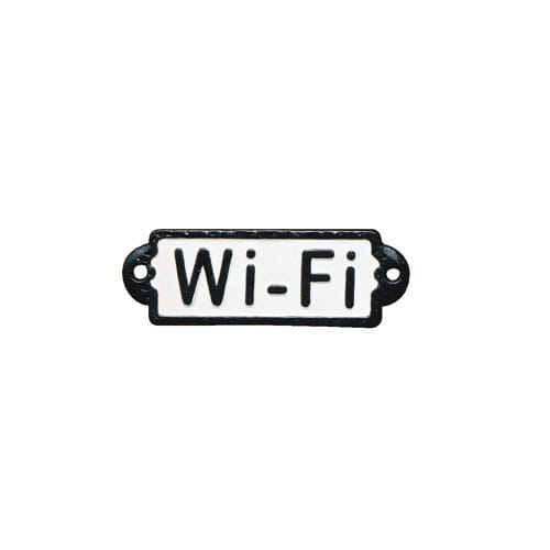 "IRON SIGN ""Wi-Fi"""