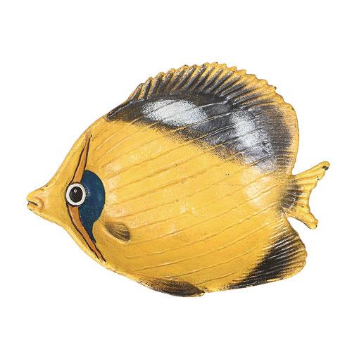 "IRON TRAY ""YELLOW FISH"""