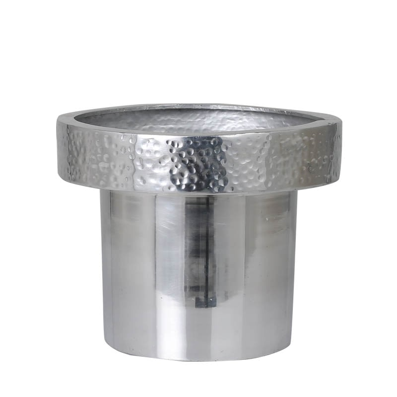 METAL POT COVER M SLV