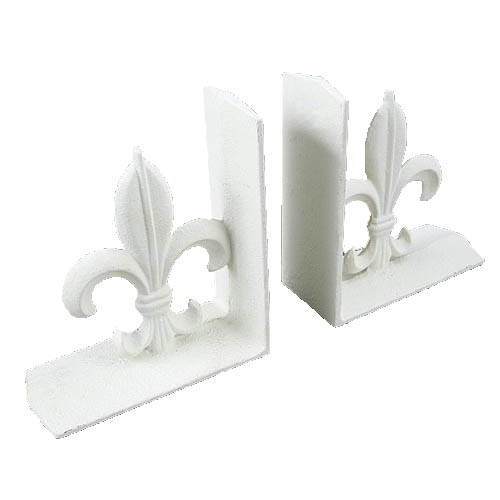 BOOKENDS IVORY