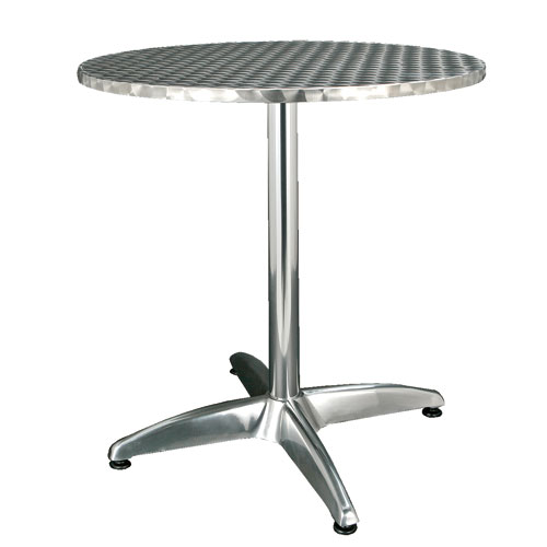ALUMINUM ROUND TABLE ''70''