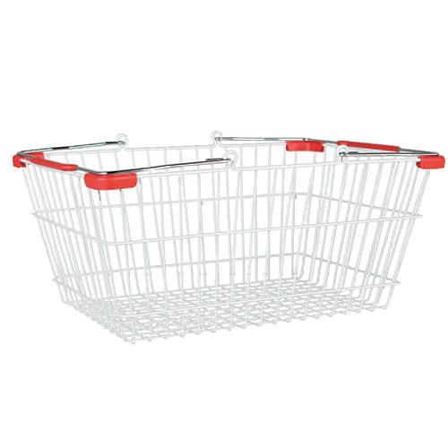 MARKET BASKET-L (WHITE/RED)