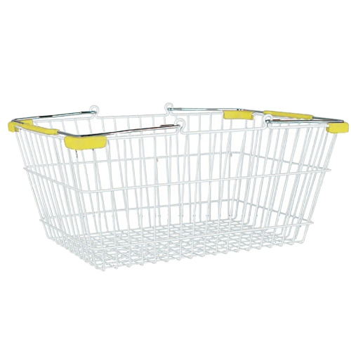 MARKET BASKET-S (WHITE/YELLOW)